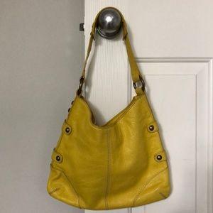 JCrew Leather Purse/Bag GORGEOUS YELLOW!